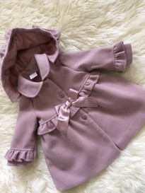 dusky pink spanish style baby girls winter co