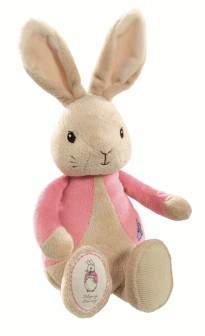 my first flopsy rabbit soft toy from peter rabbit