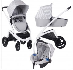my babiie dreamiie by samantha faiers mb300 grey stripes travel system