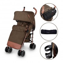discovery prime pushchair by ickle bubba in khaki