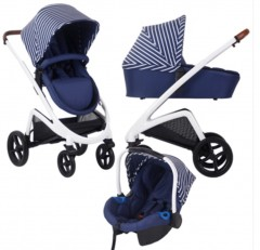 my babiie dreamiie by samantha faiers mb300 blue stripes travel system
