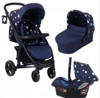 abbey catwalk collection mb200+ navy blue stars