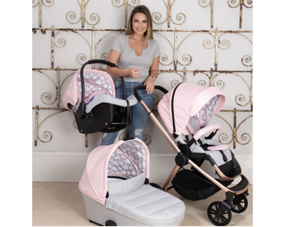 samantha faiers mb400 pink clouds travel system