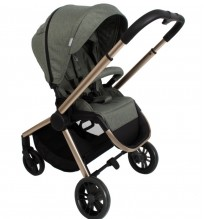 billie faiers mb400 pushchair bronze sage melange