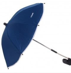 my babiie navy pram pushchair parasol.