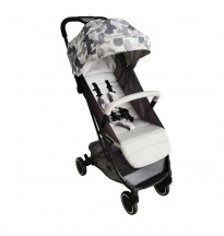 my babiie mb x1 camo compact stroller pushchair grey cameo
