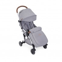 globe max stroller by ickle bubba  grey holiday buggy