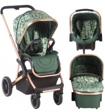 your babiie by my babiie belgravia in calm palm travel system