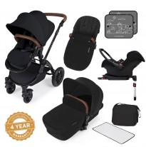 ickle bubba v3 stomp in back travel system  isofix base