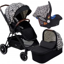 my babiie am pm christina milian leopard victoria travel system