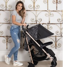 dreamiie by samantha faiers mb51 black marble stroller buggy