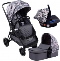 "my babiie mawma by nicole ""snooki"" polizzi pink cameao victoria travel system"